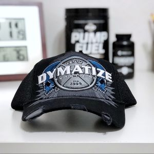 Team Dymatize Nutrition Distressed Trucker Hat